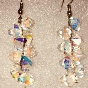 Jewelry - Handmade Crystal Drop Earrings